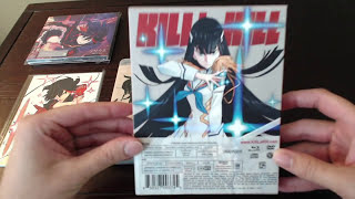 KILL la KILL Vol. 1 Unboxing Limited Edition U.S. Blu-ray DVD Set & Eir Aoi CD
