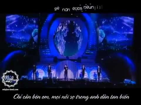 [Vietsub][22.05.2010] SS501 - Let me be the one (Dream Concert 2010)