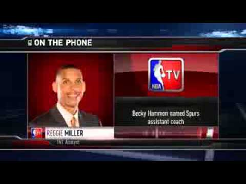 GameTime  Spurs hire Becky Hammon as Assistant Coach   August 5, 2014   NBA