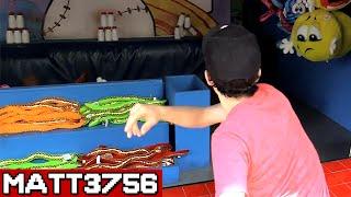 Impossible Carnival Game Challenge - Milk Jug + Bowler Roller | Matt3756