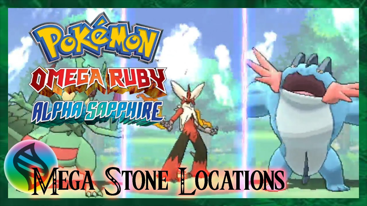 Pokemon Omega Ruby And Alpha Sapphire Where To Find Every
