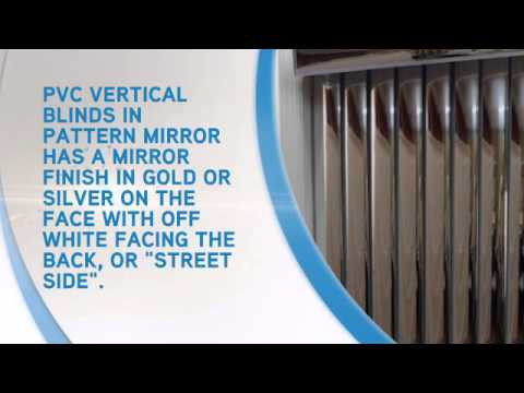 Vertical Blinds Pvc Mirror Blindsonline You