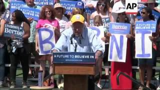Sanders Rallies in California Ahead of Primary