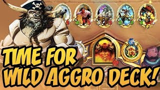 Time For Wild Aggro Deck! | Rise Of Shadows | Hearthstone