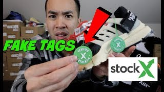 FAKE STOCKX TAG ?!! LEGIT CHECK OG