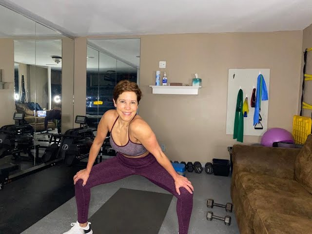 Workout With Maria - Arms, Back And Core