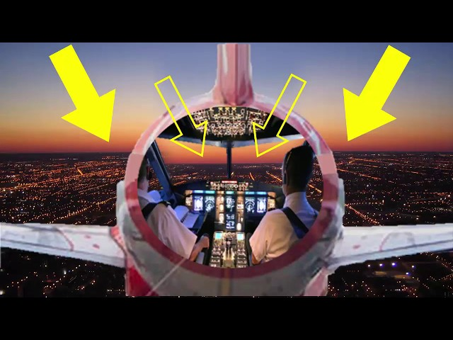 DO AIRPLANE WINDSHIELDS LOWER THE HORIZON? glass distortion flat Earth perspective optical illusion