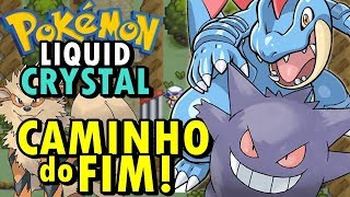 Pokemon Liquid Crystal (Detonado - Parte 19) - Caminho do Fim!