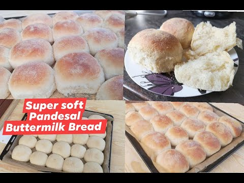 Soft and fluffy Pandesal / Buttermilk Bread / Buttermilch Brötchen