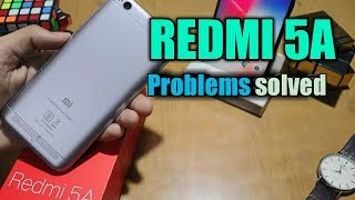 REDMI 5A PROBLEMS SOLVED!! | Solution of battery,camera,heating problem in mi 5a