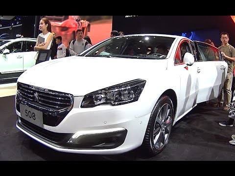 2016, 2017 New Peugeot 508 launched on the Chinese auto market, Peugeot 508 2016, 2017 model