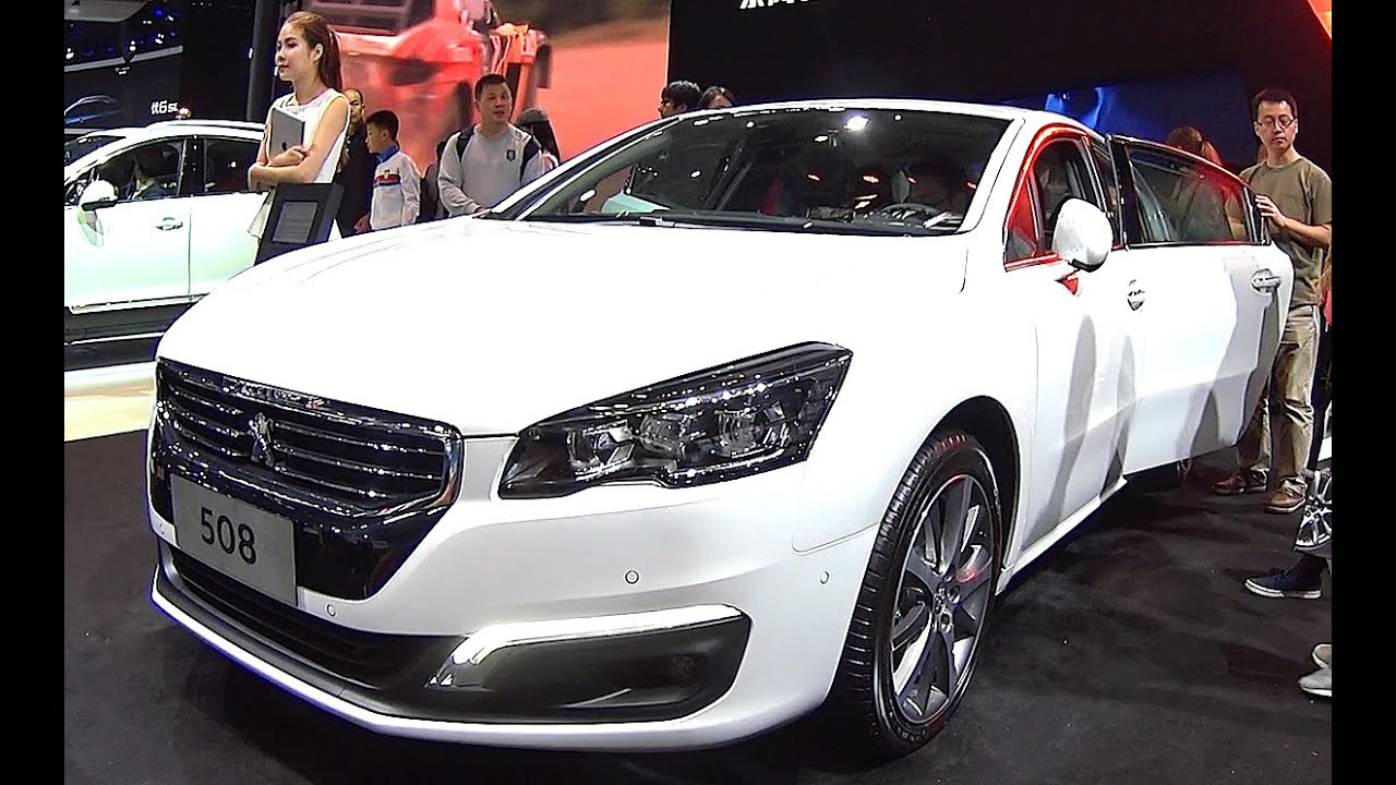 What Is A Sedan >> 2016, 2017 New Peugeot 508 launched on the Chinese auto market, Peugeot 508 2016, 2017 model ...