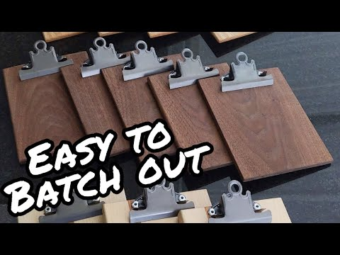 Miniature Clipboard - Beginner Woodworking Project  [DIY]