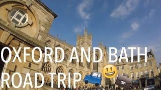 Oxford and Bath Adventure | LA vlogs