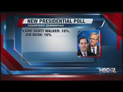 New Quinnipiac Presidential Poll Has Walker Leading Narrowly