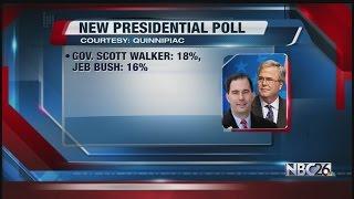 New Quinnipiac Presidential Poll Has Walker Leading Narrowly