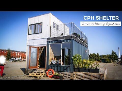 CPH Shelter: Shipping Container Student Housing | Copenhagen