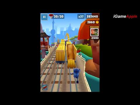 Subway Surfers Shanghai iPad Gameplay HD #1