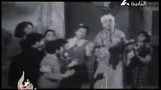 المسحراتى اسماعيل ياسين وهانى شاكر وهو طفل فيديو نادر جدا