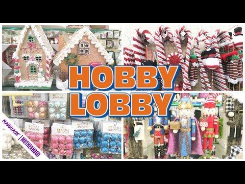 HOBBY LOBBY Haul for Christmas decor + Shop with me!