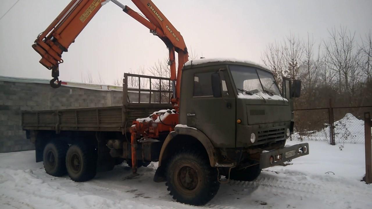 Манипулятор вездеход Камаз 5 тонн