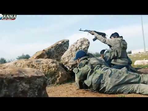 Сирия  Реальный бой Сирийских Тигров с боевиками