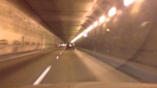 Hwy 24 north towards Concord, CA Walnut Creek, CA through Caldecott Tunnel