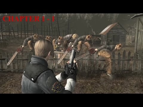 Resident Evil 4 - Story (Welcome To Hell) Mode - Chapter 1-1 (New Game - Professional) HQ
