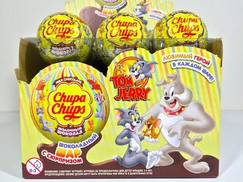 Открываем Игрушки Шары Сюрпризы Том и Джерри Unboxing Surprise Eggs Tom and Jerry