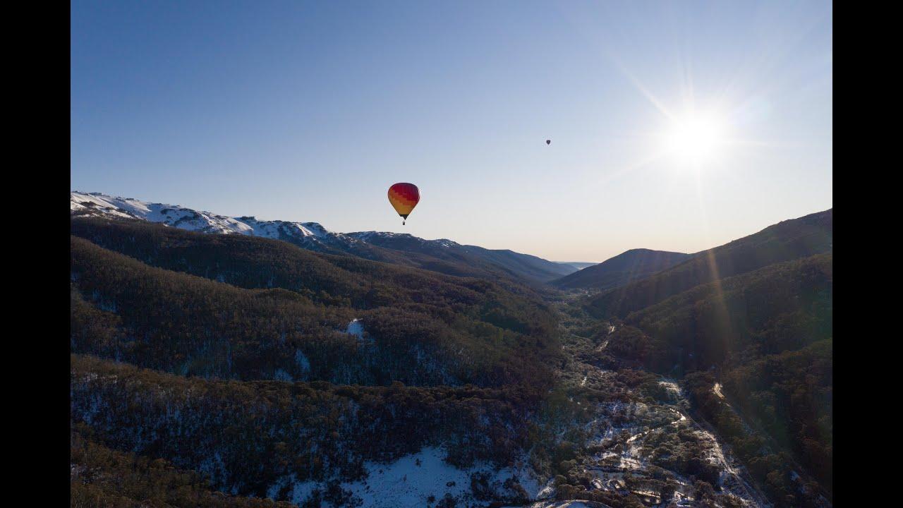 Hot Air Balloons in Thredbo!