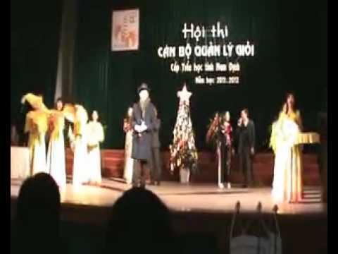 Màm chào hỏi Hội thi Huyện Trực Ninh -  CBQL tỉnh Nam Định