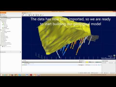 Building A Geological Model In Leapfrog Geo - Part 1 Of 3