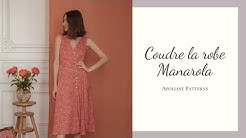 DIY - Coudre la robe  Manarola - Apolline Patterns