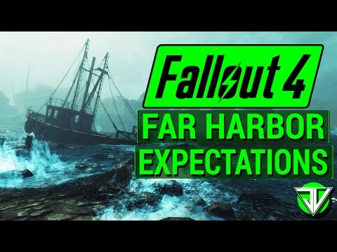 FALLOUT 4: NEW Far Harbor DLC Expectations! (Map Size, New Content, and Leaked Info Speculation)