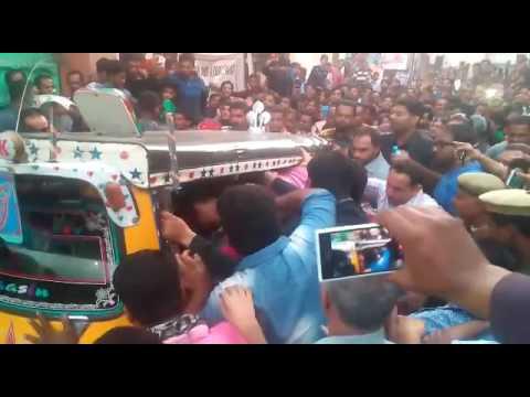 JODHPUR: people look crazy to see Actor Ajay Devgan during shooting of Baadshaho