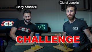 დესერტი დანელიასთან-Giorgi Sarishvili/Giorgi Danelia-იუთუბერების გამოწვევა