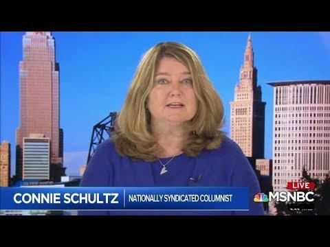 Connie Schultz on AM Joy MSNBC, August 5, 2018