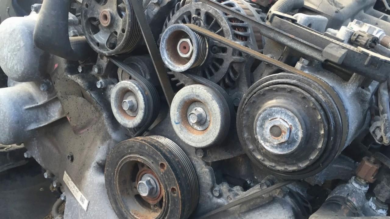 Subaru Legacy Outback Engine 3 6 R Serpentine Belt