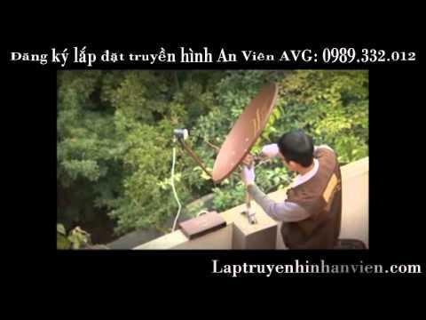 Hướng dẫn lắp đặt chảo thu đầu thu truyền hình An Viên - AVG