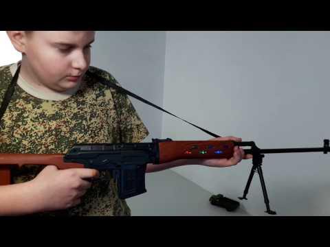 Игрушка снайперская винтовка Драгунова