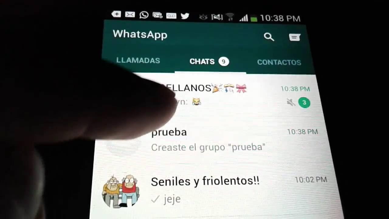 Como Crear Un Grupo De Whatsapp