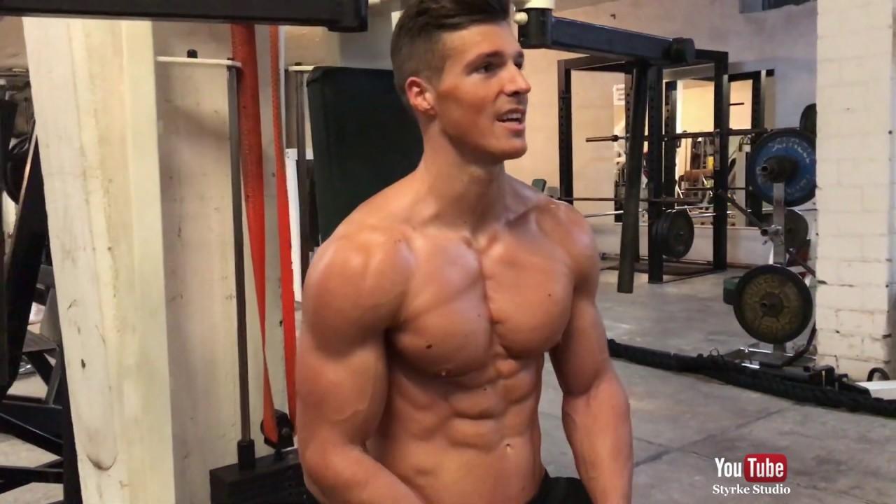 Natural Aesthetics Chest Workout Power Joel Styrke Studio