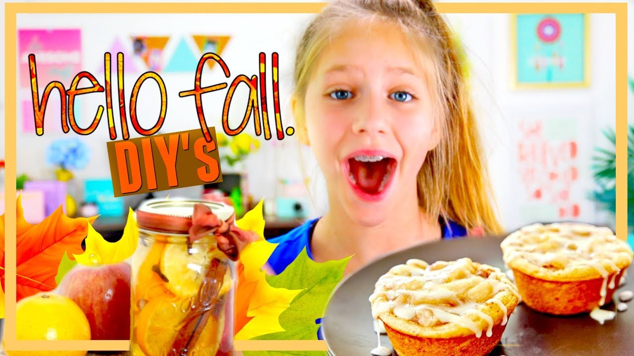 HELLO FALL Food DIYs Youll In Love With Easy Kids DIY Crafts And Recipes Ideas Hope Marie