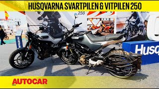 Husqvarna Svartpilen 250 and Vitpilen 250 Walkaround : #IBW2019 | First Look | Autocar India