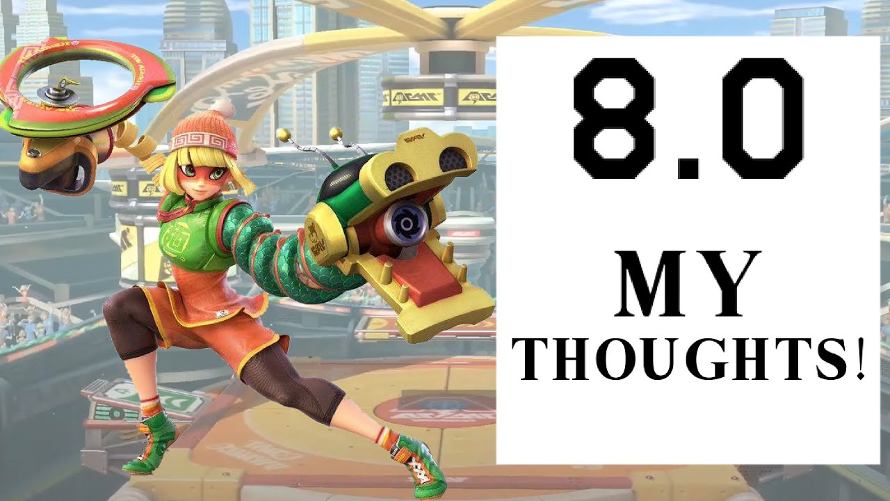 My Thoughts On Min Min & The 8.0 Update For Super Smash Bros Ultimate