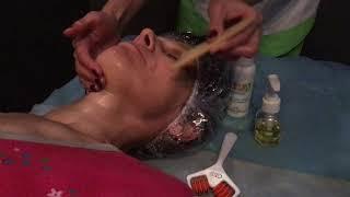 Пластический массаж лица комплексный уход за лицом