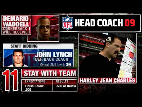 Preparing For Our First Falcons Offseason - NFL Head Coach 09 Career Mode   Ep.11