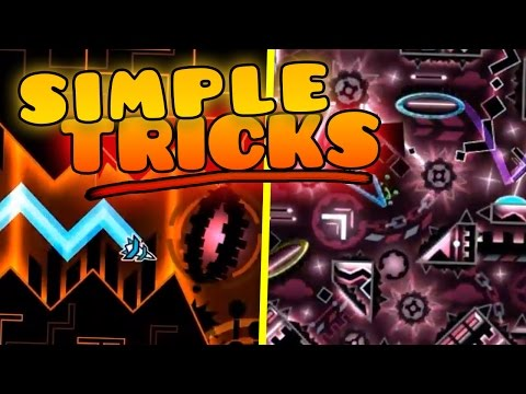 SIMPLE TRICKS TO GET BETTER At Geometry Dash! 💻