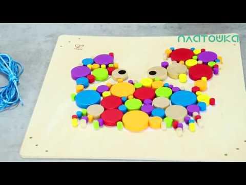 Цветное настроение! Мозаика для раскрашивания, Hape Toys