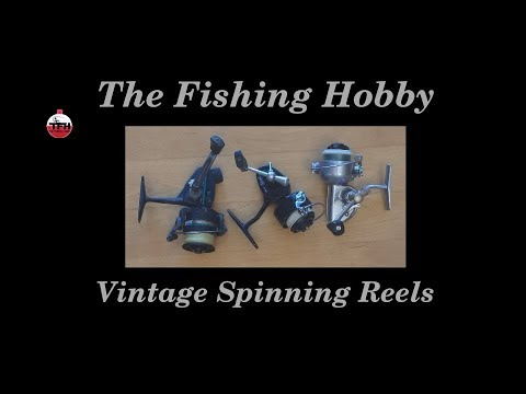 Using Vintage Fishing Gear - Vintage Spinning Reel Tips